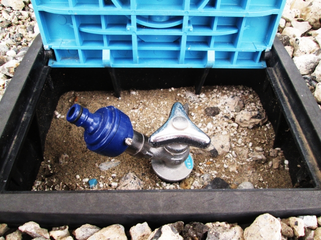 散水栓 蛇口 交換