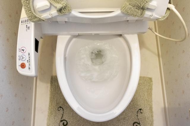 トイレの流れ改善