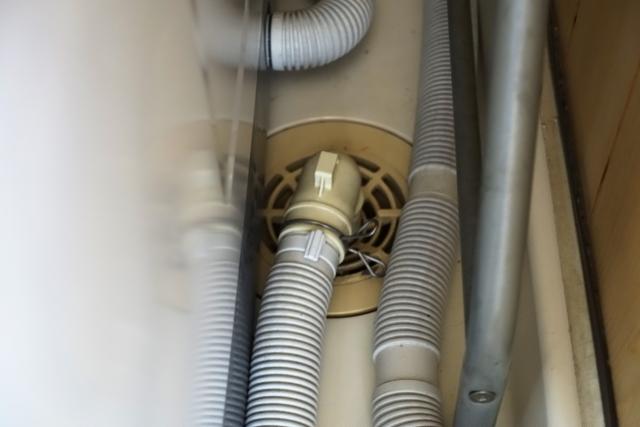 洗濯機 排水ホース 外し方