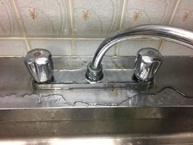 キッチン 水漏れ